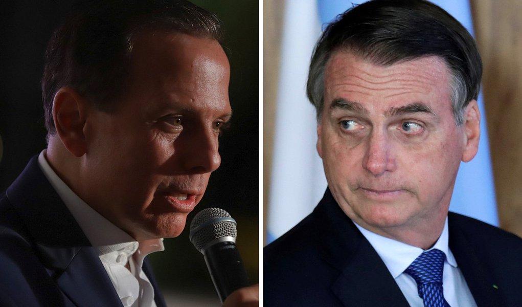 Doria dispara contra Bolsonaro e diz que jamais nomearia o filho para embaixada