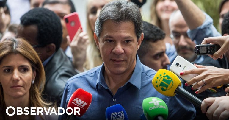 Ex-candidato presidencial Fernando Haddad condenado a 4 anos de prisão